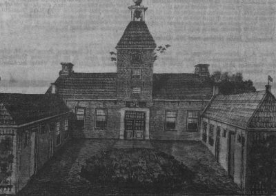 Voorkant huis Valkenstijn rond 1820.bmp